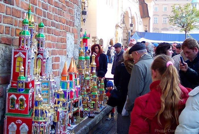 crèches de Noël de Cracovie
