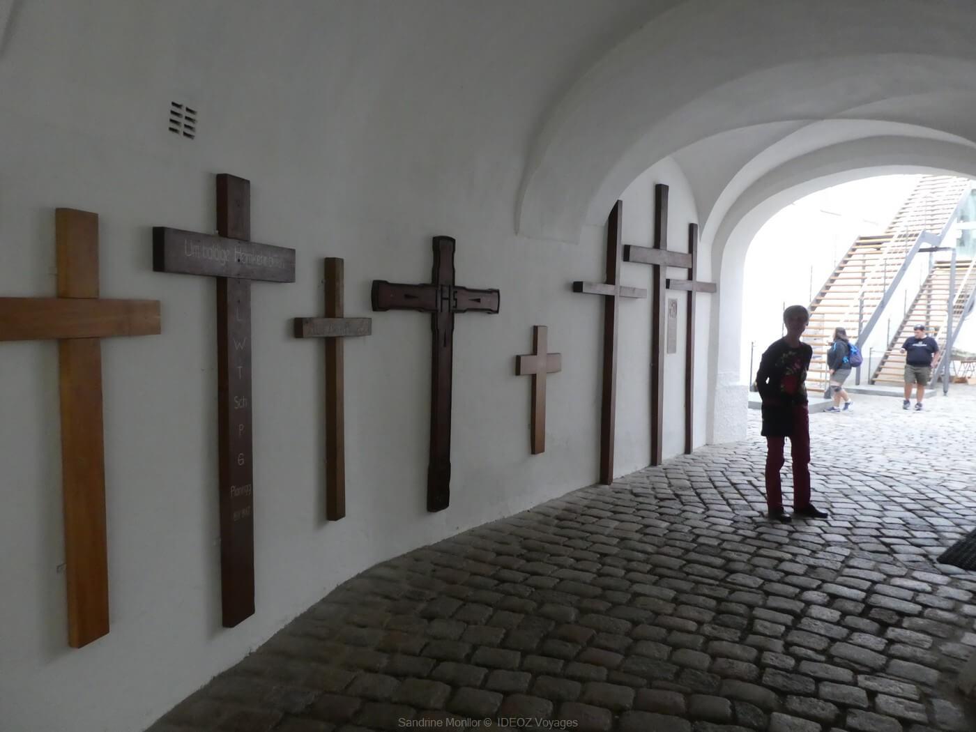 croix des abbés responsables de l'abbaye d'andechs
