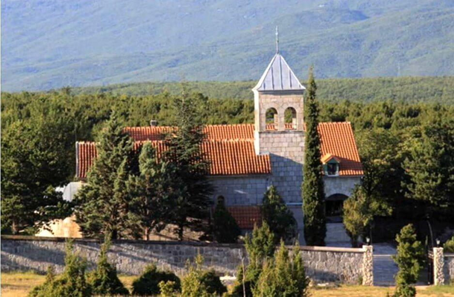 nouveau monastère de Dragovic en dalmatie