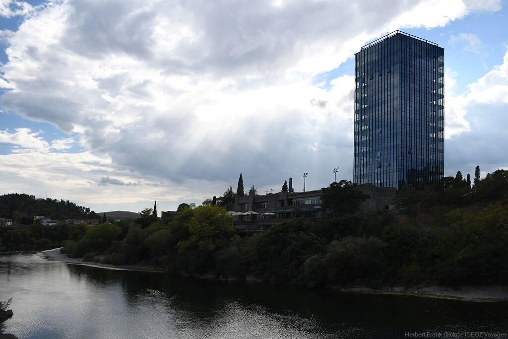 rivière moraca à Podgorica