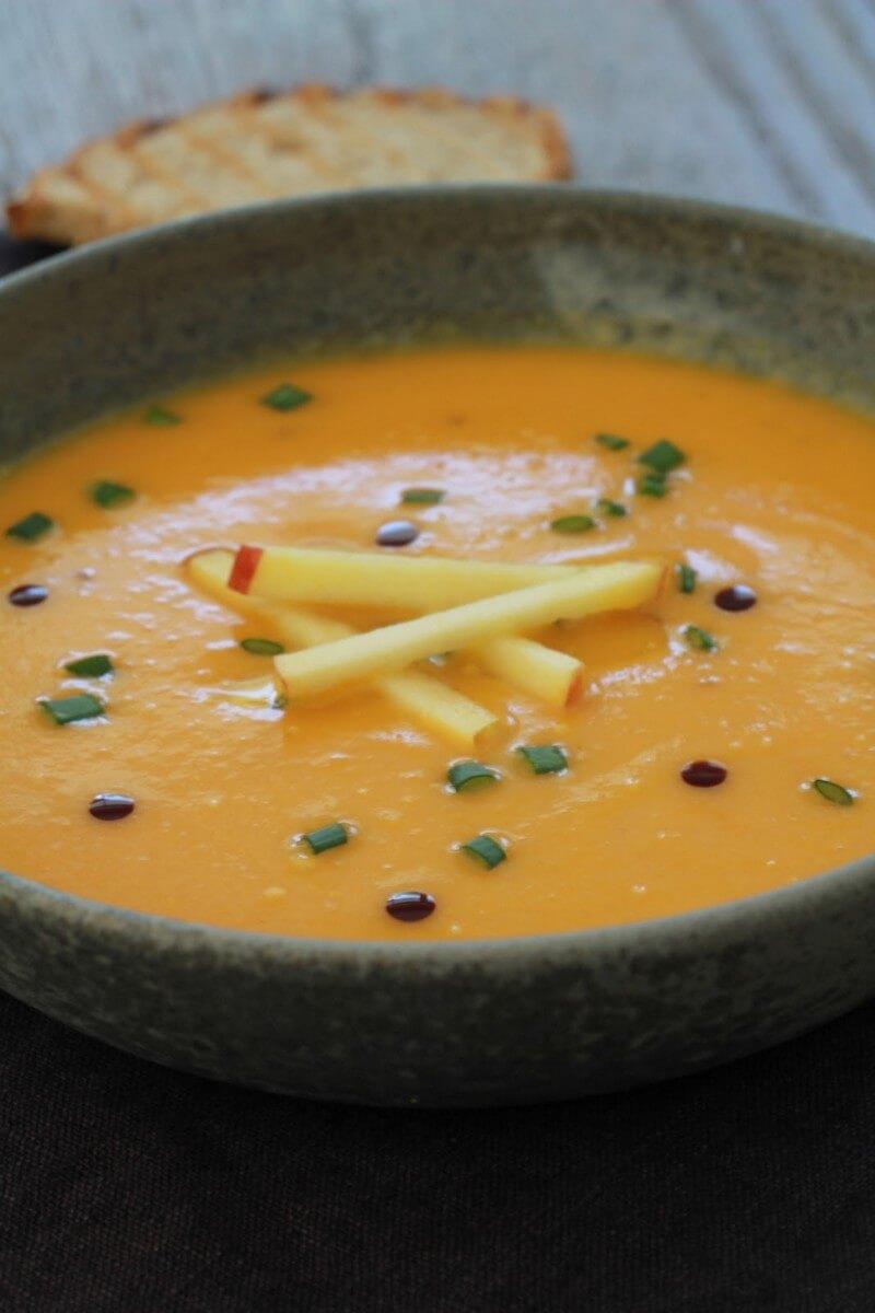soupe autrichienne à la courge de naples