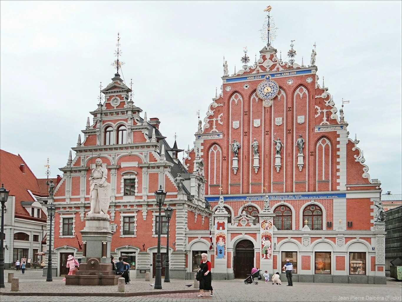 maison des têtes noires à Riga