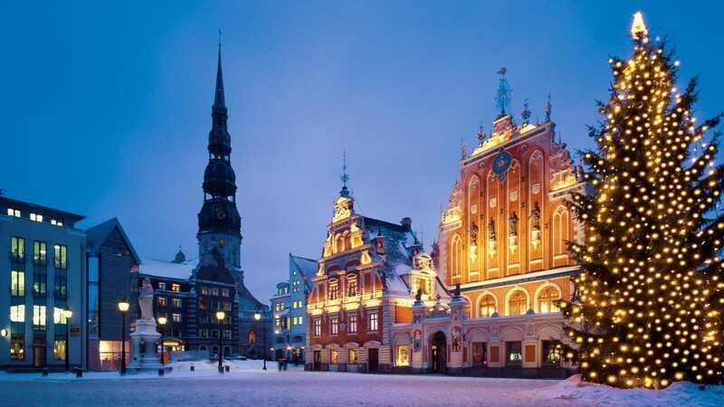 Riga à noel