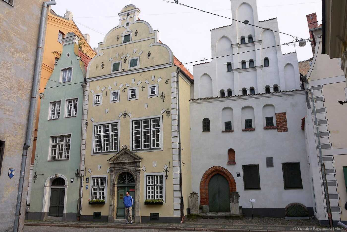 Riga Maison Trois frères