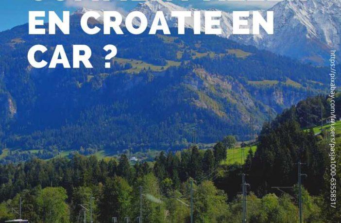 aller en croatie en car