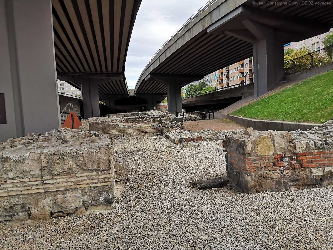 Óbuda ruines des thermes militaires à budapest