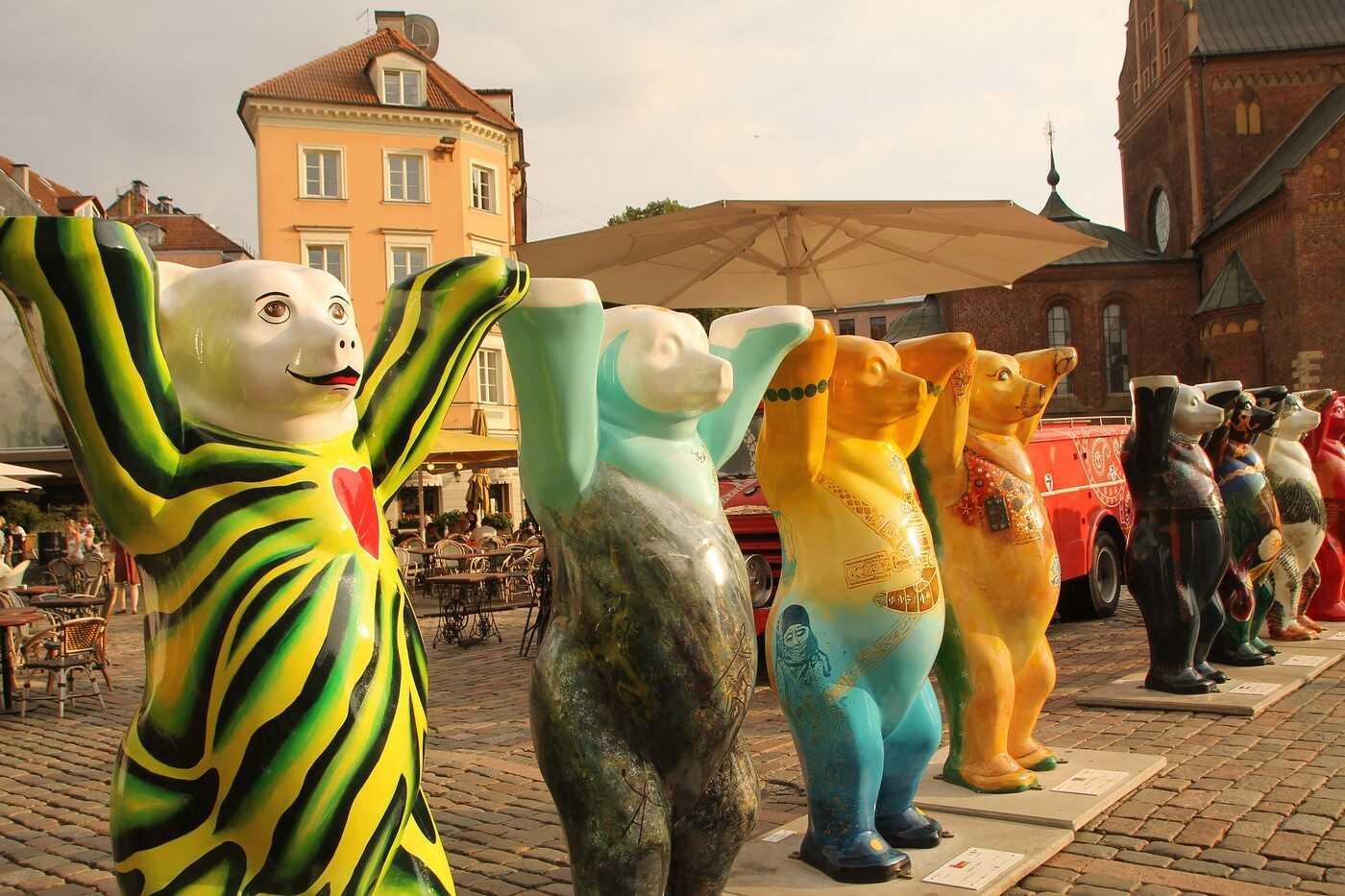 ours à riga en lettonie