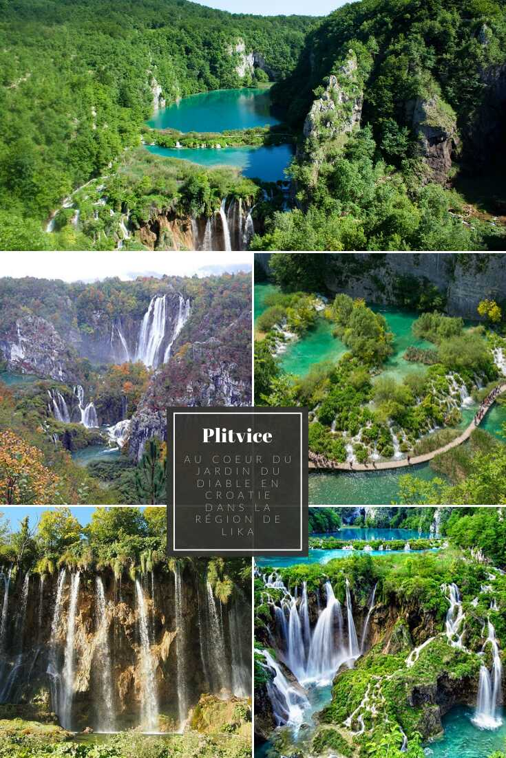 plus beaux sites du parc national de plitvice