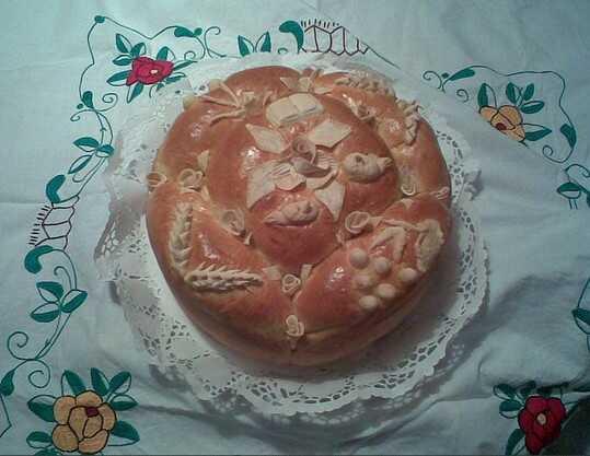 slavski kolac gâteau de la slava en serbie