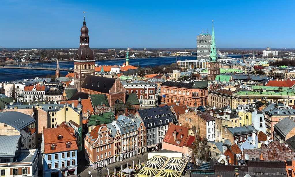 ville historique de Riga