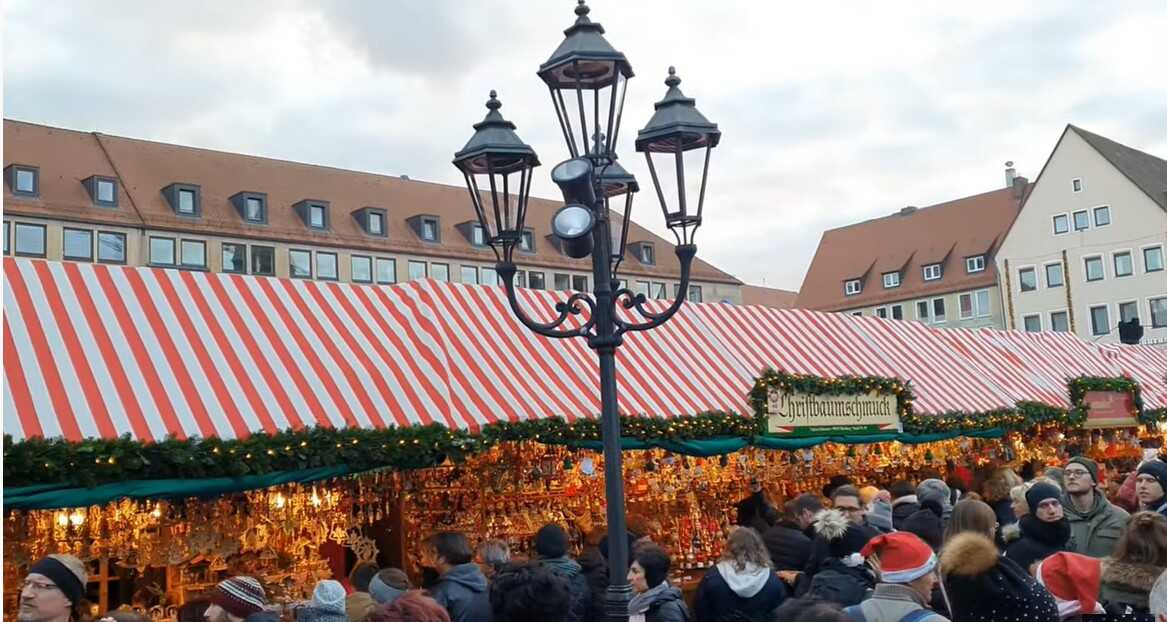 Nuremberg marché de Noel