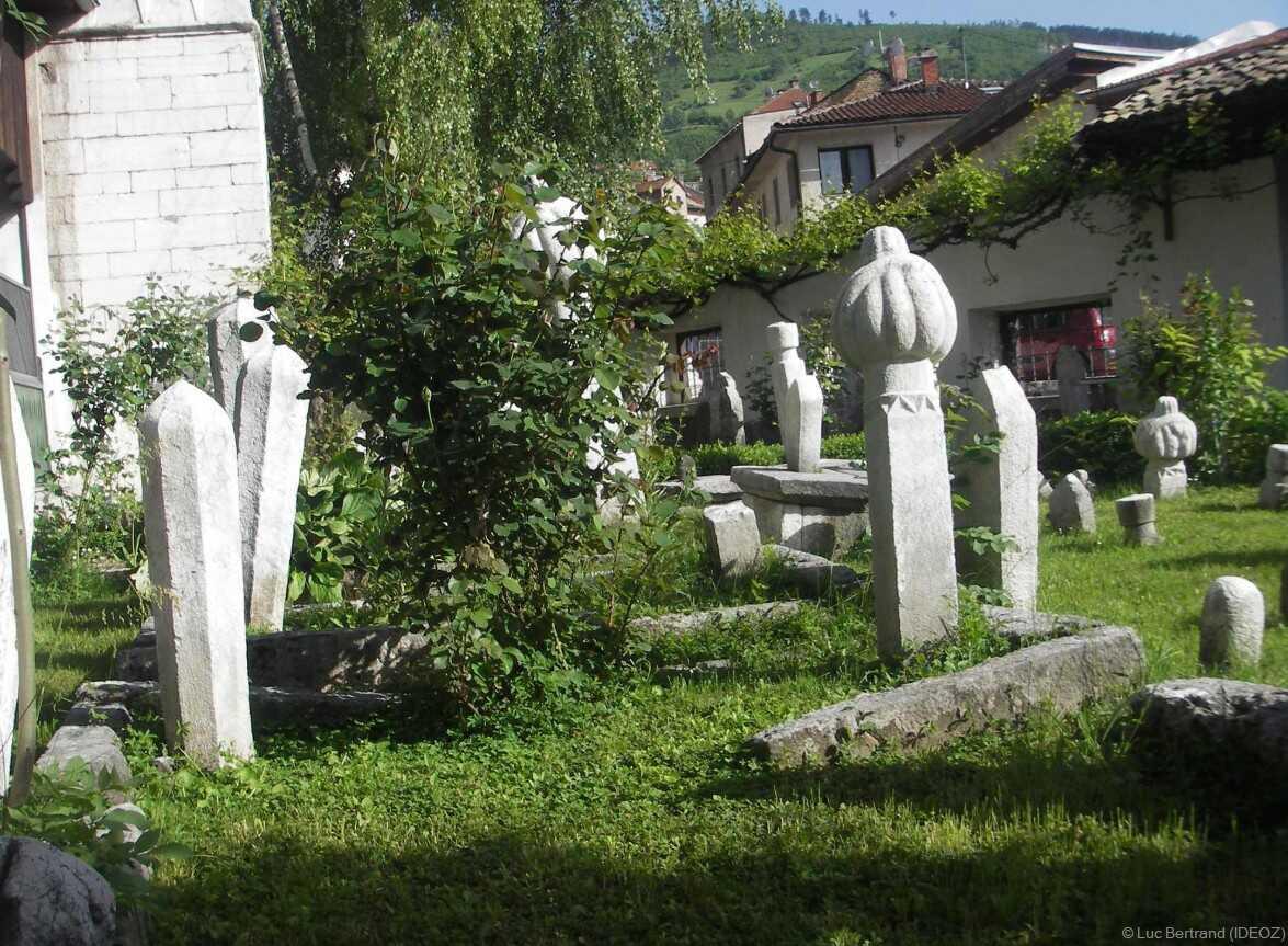 Sarajevo pierres tombales musulmanes