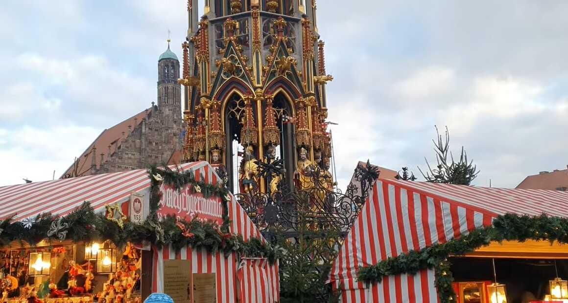Tour de noel sur le christkindlmarkt de Nurnberg