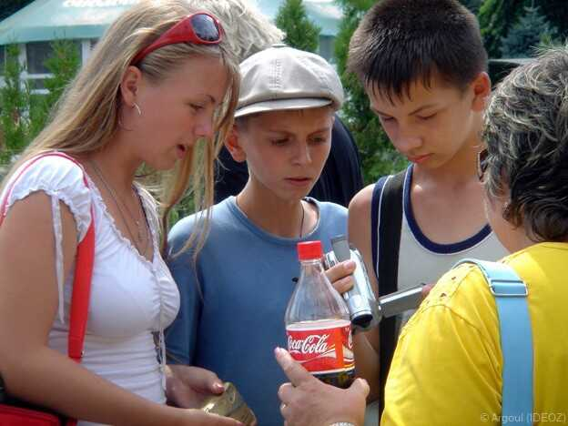adolescents dans kiev