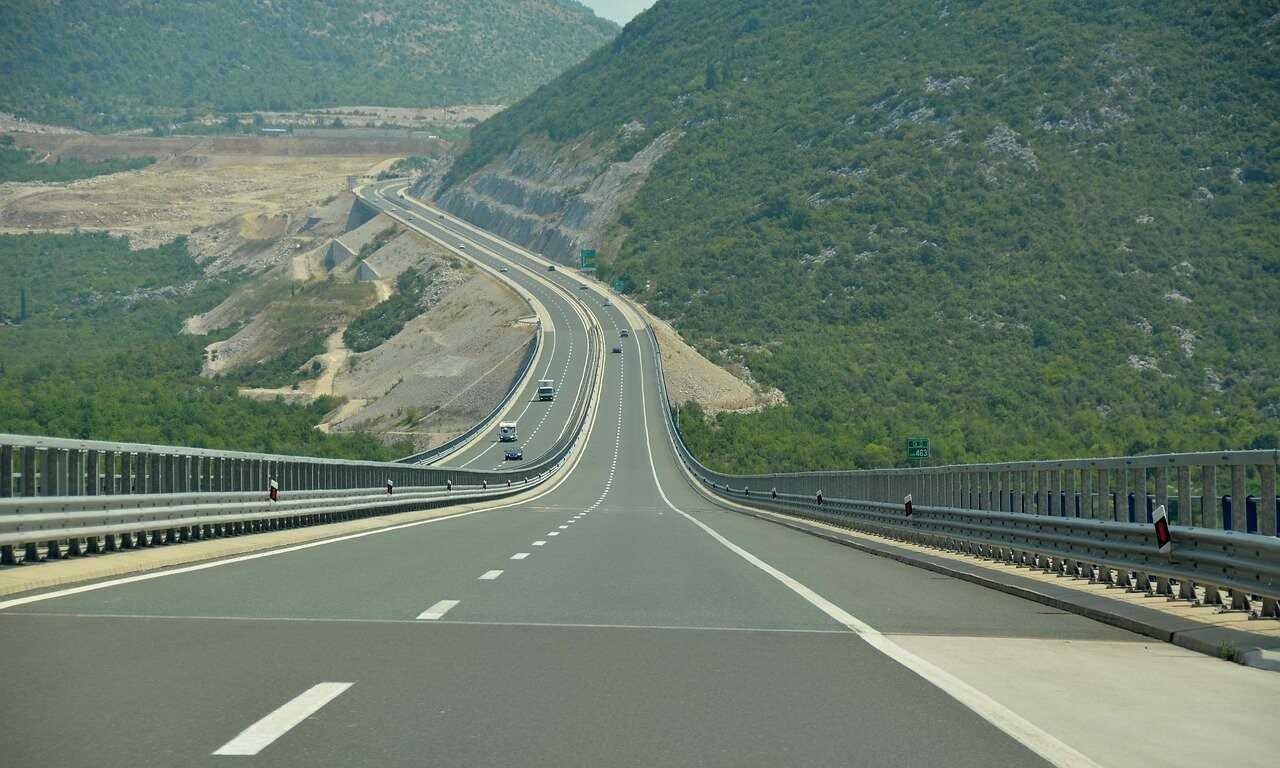 autoroute en croatie A1 Highway en dalmatie