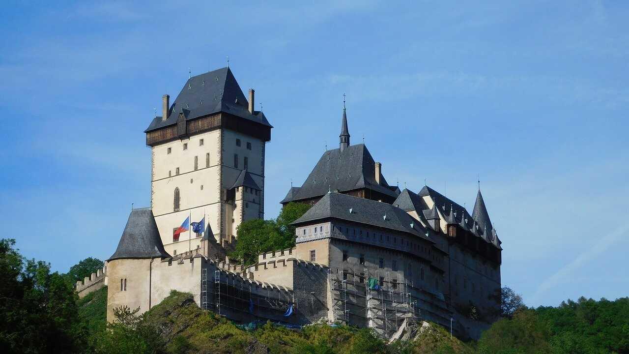 chateau de Karlstejn en bohème