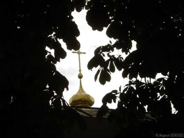 clocher d'une église de kiev
