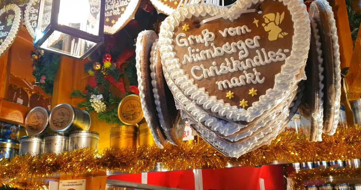 coeur de pain d'épices gruß vom nurberger christkindlesmarkt
