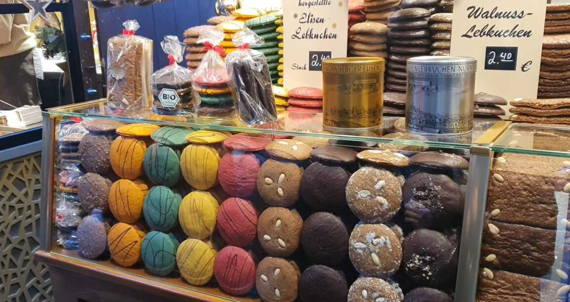 lebkuchen sur le marché de noel de nuremberg