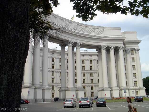 kiev ministère des affaires étrangères