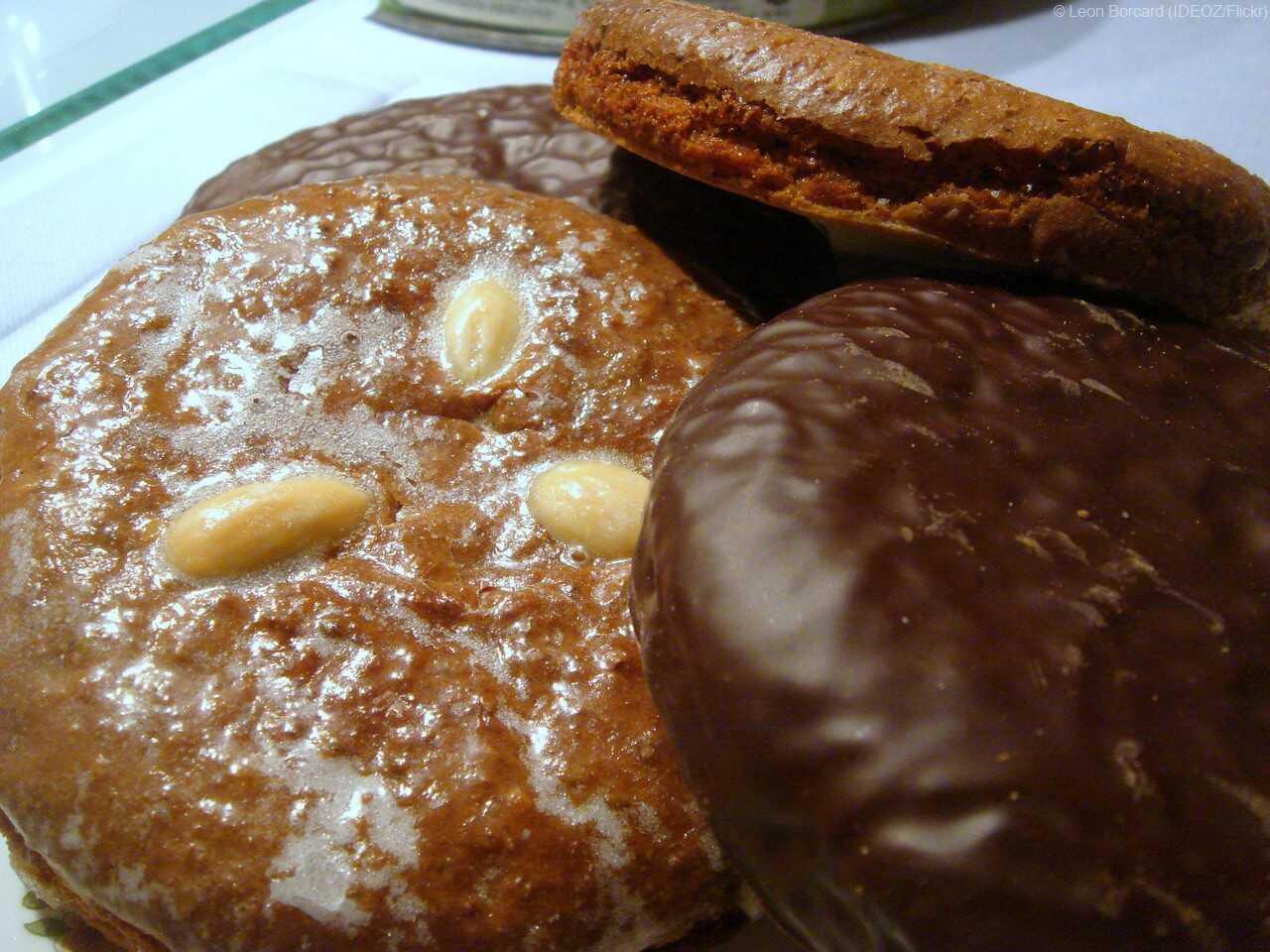 lebkuchen elise pain d'épices de Nüremberg en Bavière