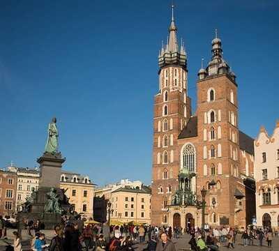 cracovie krakow basilique sainte marie