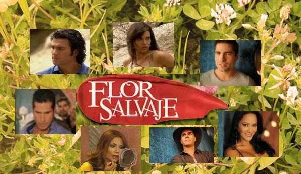 Flor salvaje personnages principaux