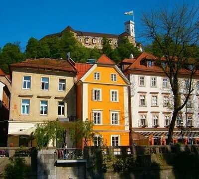 chateau et vieille ville de ljubljana