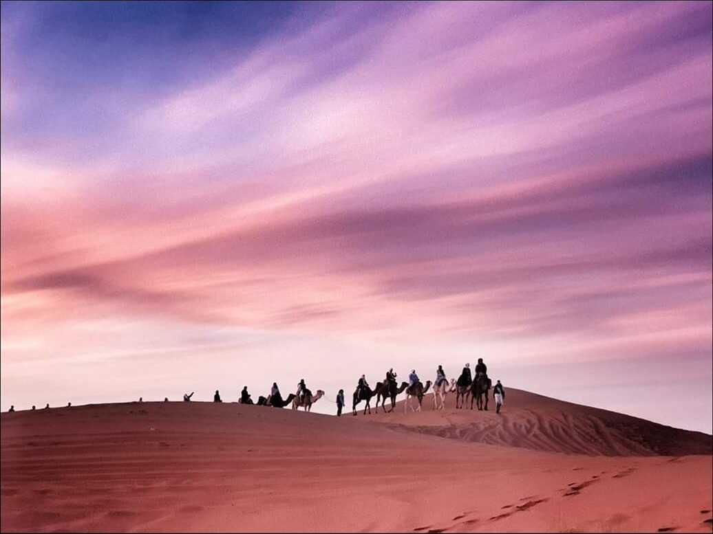 mergouza désert marocain