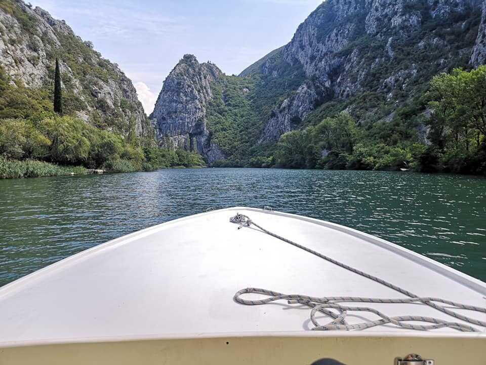 promenade en bateau sur la rivière cetina depuis omis