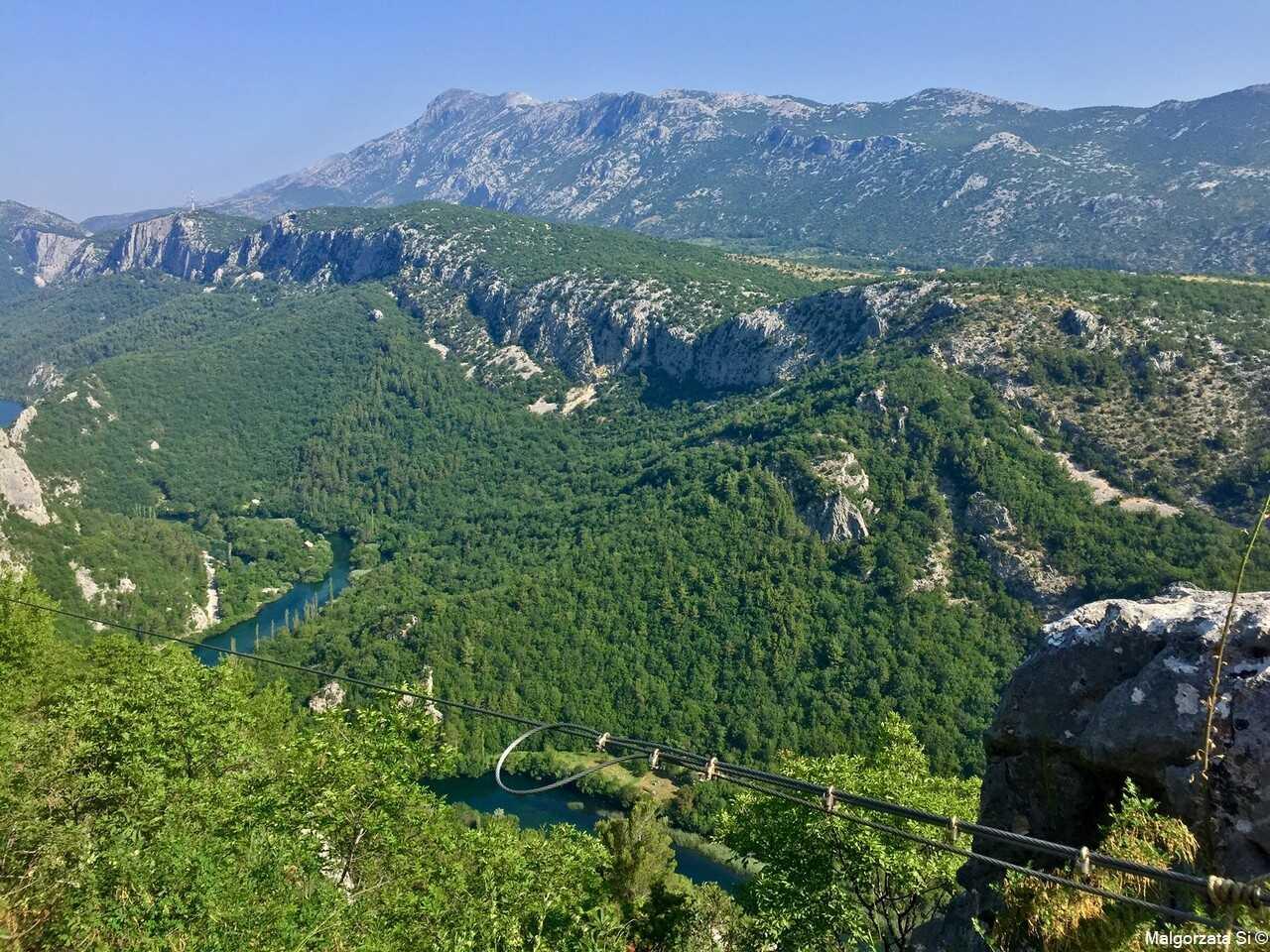 Forteresse d'Omis, Tyrolienne et Canyon de Cetina, un concentré de sensations 5