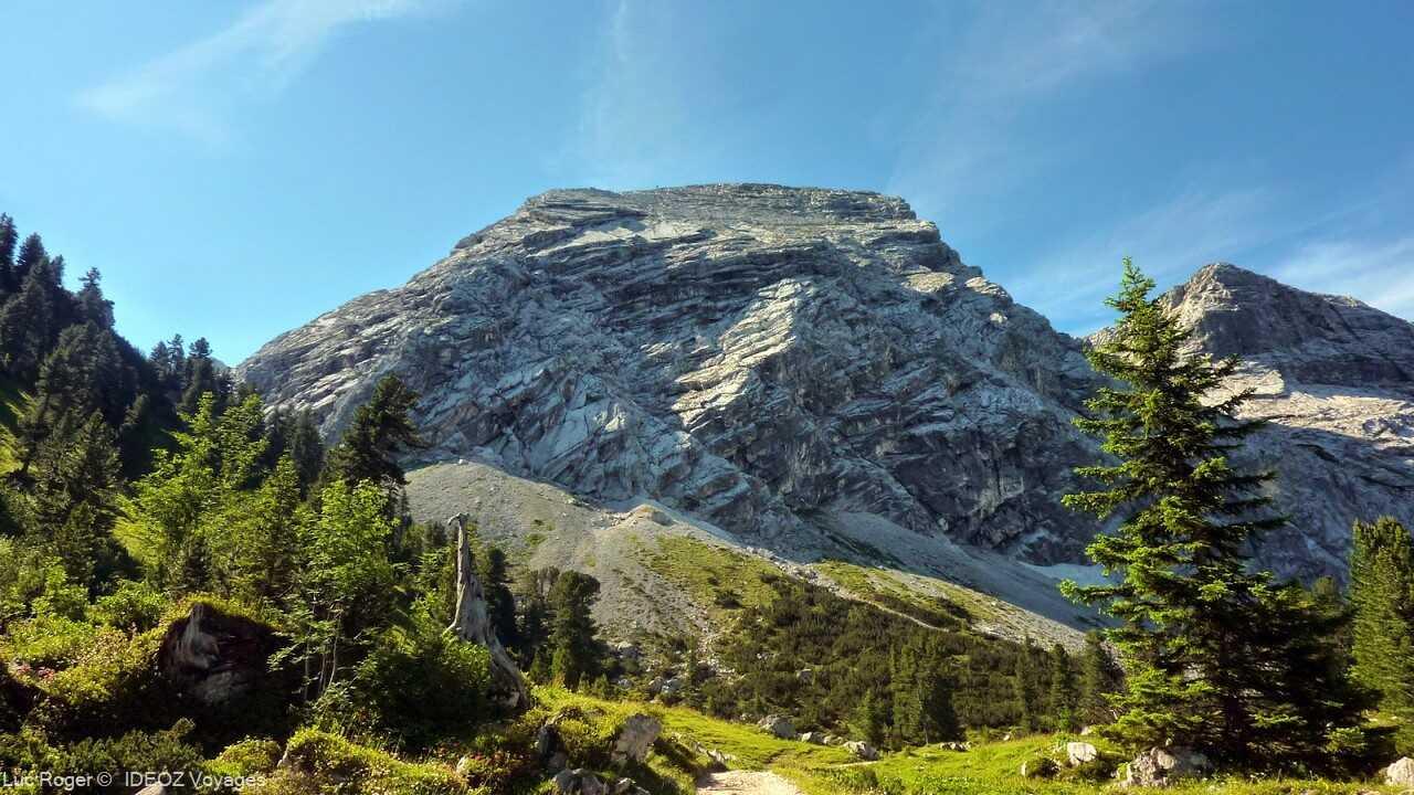 alpes bavaroises dans la région de garmisch partenkirchen