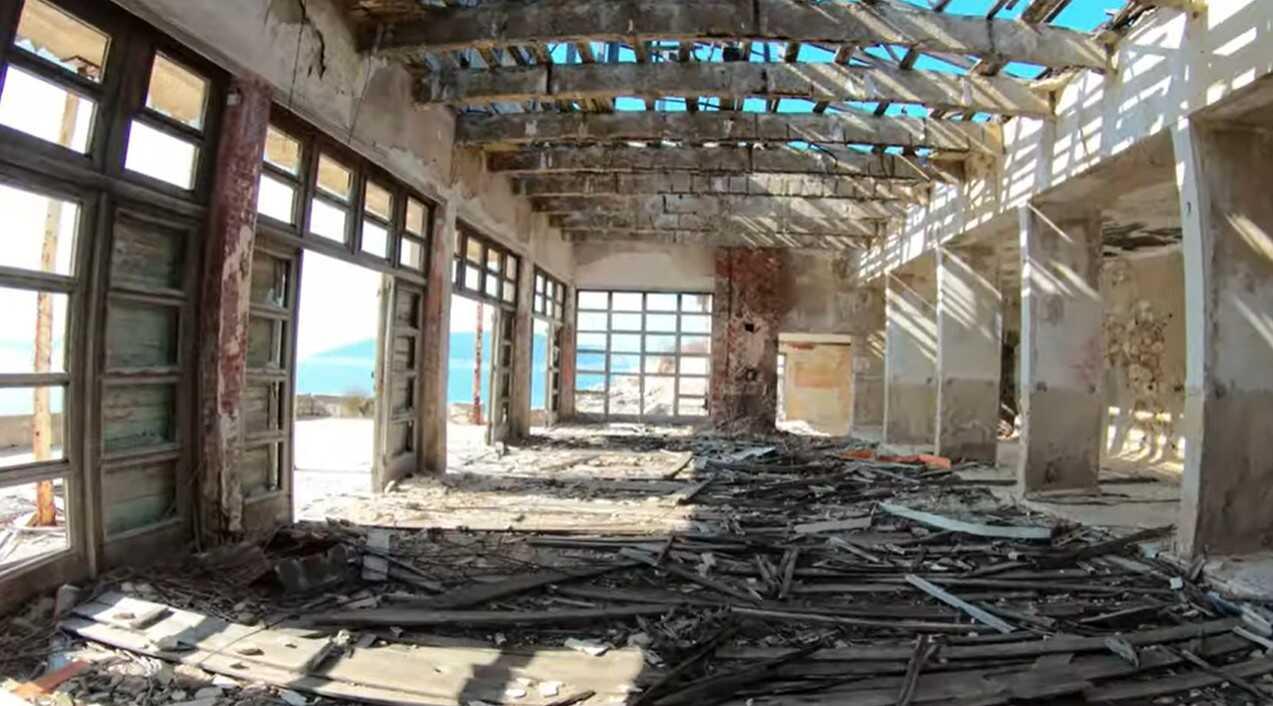 ancienne prison de tito à goli otok