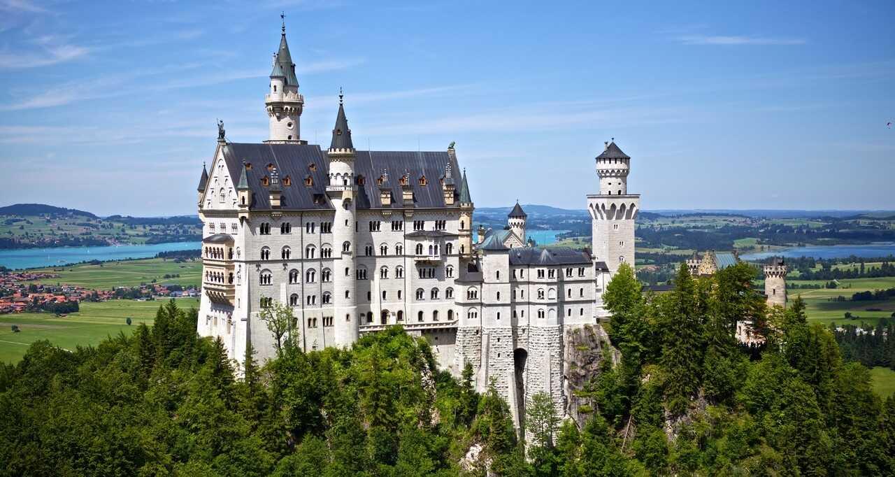 château de louis ii de bavière Neuschwanstein