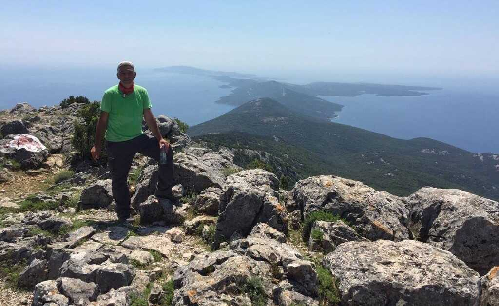 Jean Claude Zuza, guide de randonnées spécialiste du massif de Velebit