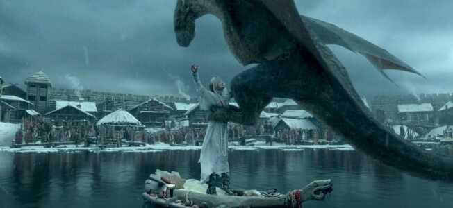 le dragon enlève Mia