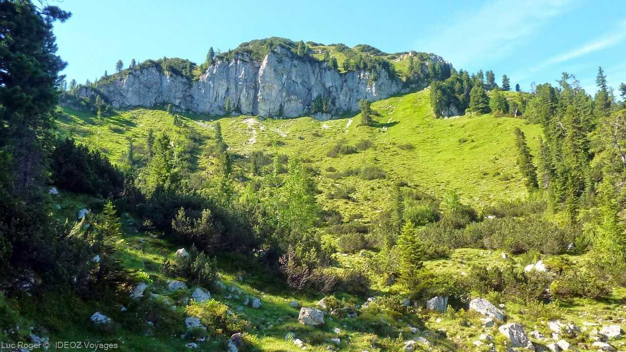 paysages des alpes bavaroises près de  Schachenhaus