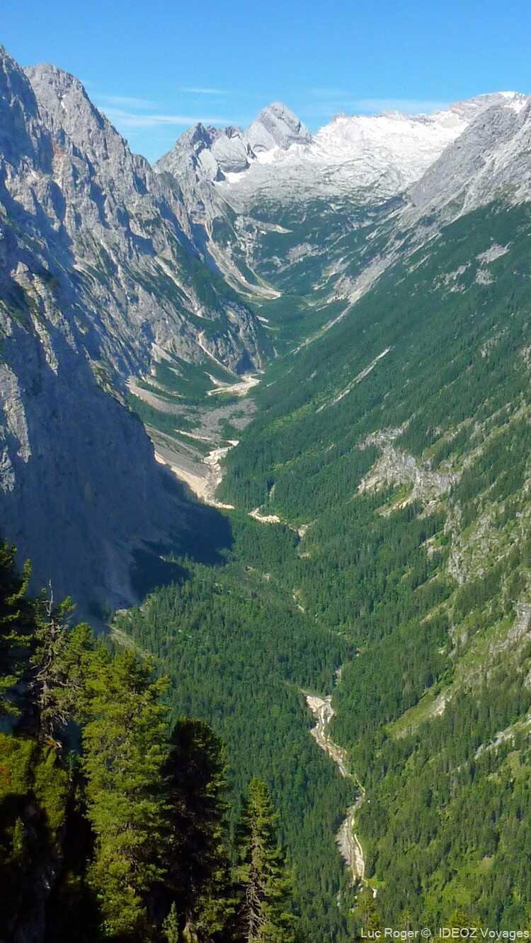 randonnée dans les alpes bavaroises autour du refuge de Schachenhaus