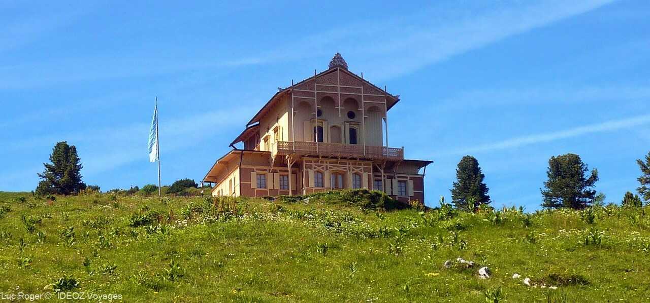 refuge alpin Schachenhaus de louis ii de bavière près de garmisch partenkirchen
