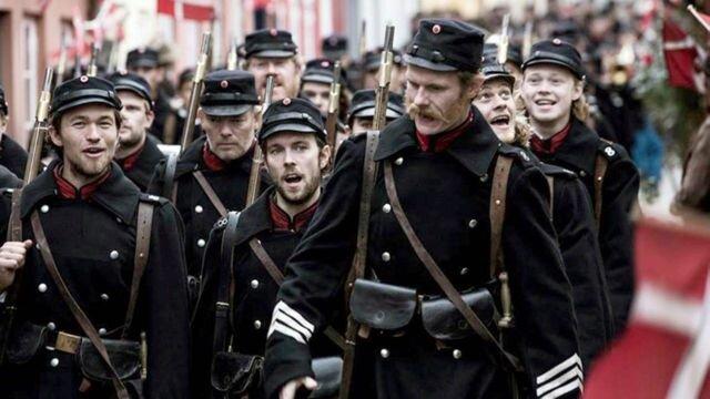 1864 amour et trahisons en temps de guerre : départ des danois pour le terrain de bataille