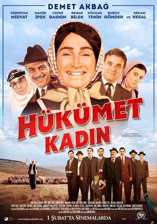 Hükümet Kadın affiche