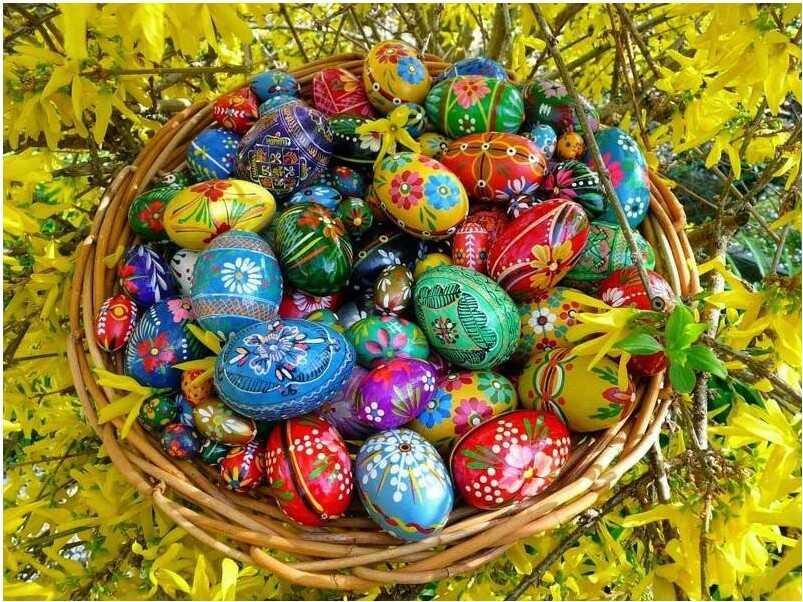 margučiai oeufs décorés de pâques en lituanie