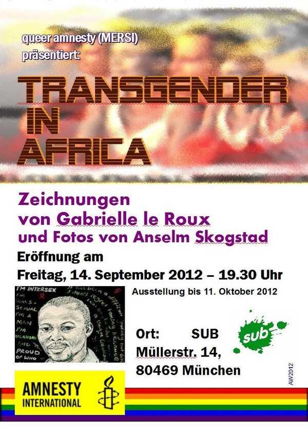 Poster Transgender in Africa