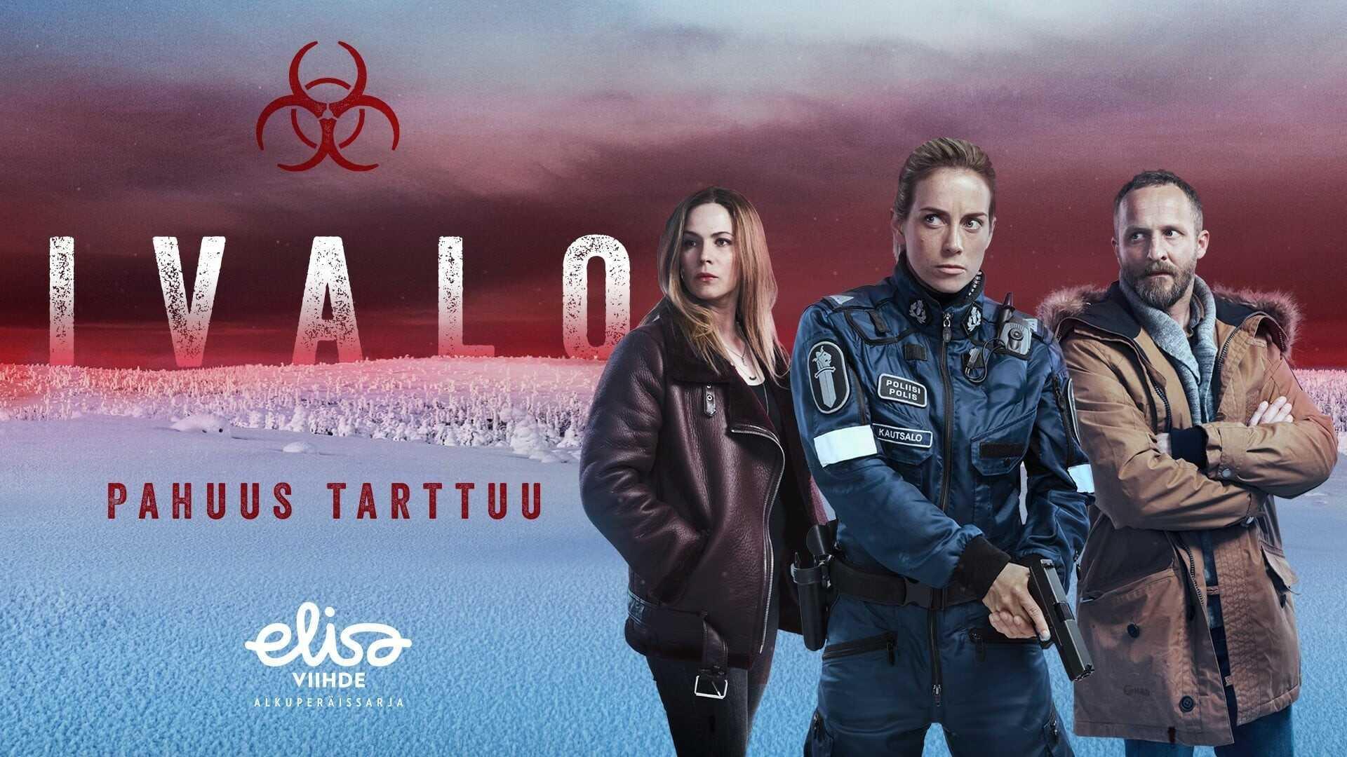 Ivalo Arctic circle ; une série nordique sur un virus mortel en Laponie