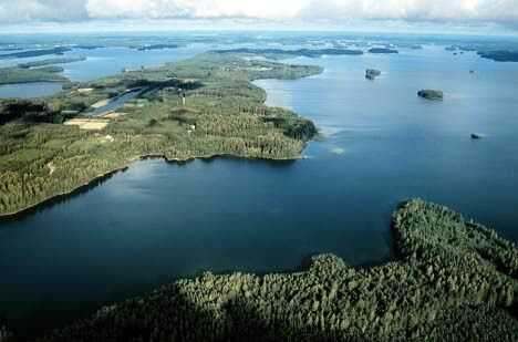 lac saimma en finlande