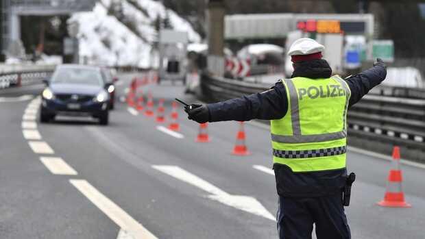 polizei douanes en autriche