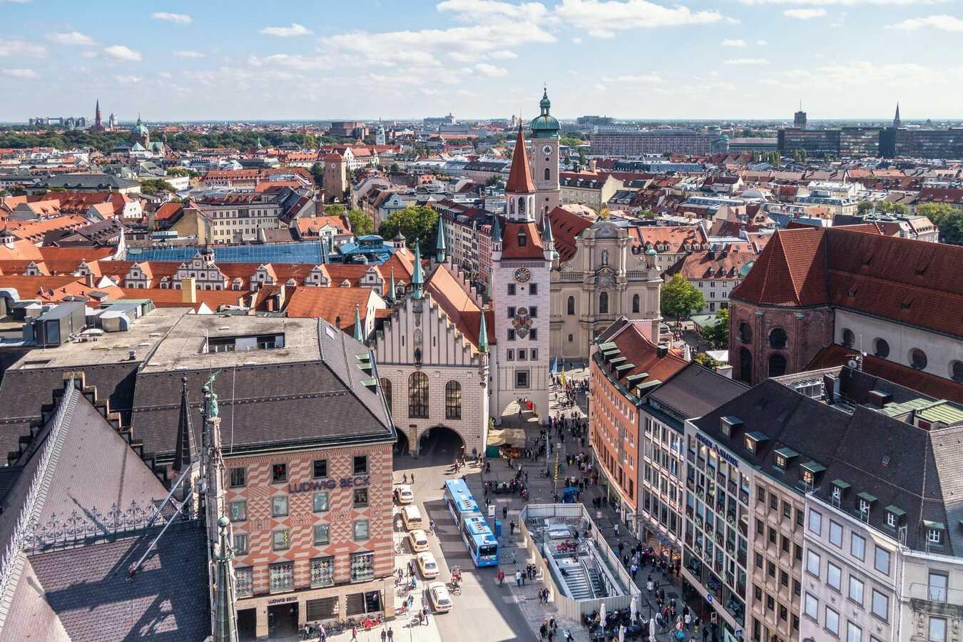quartier d'Altstadt à Munich