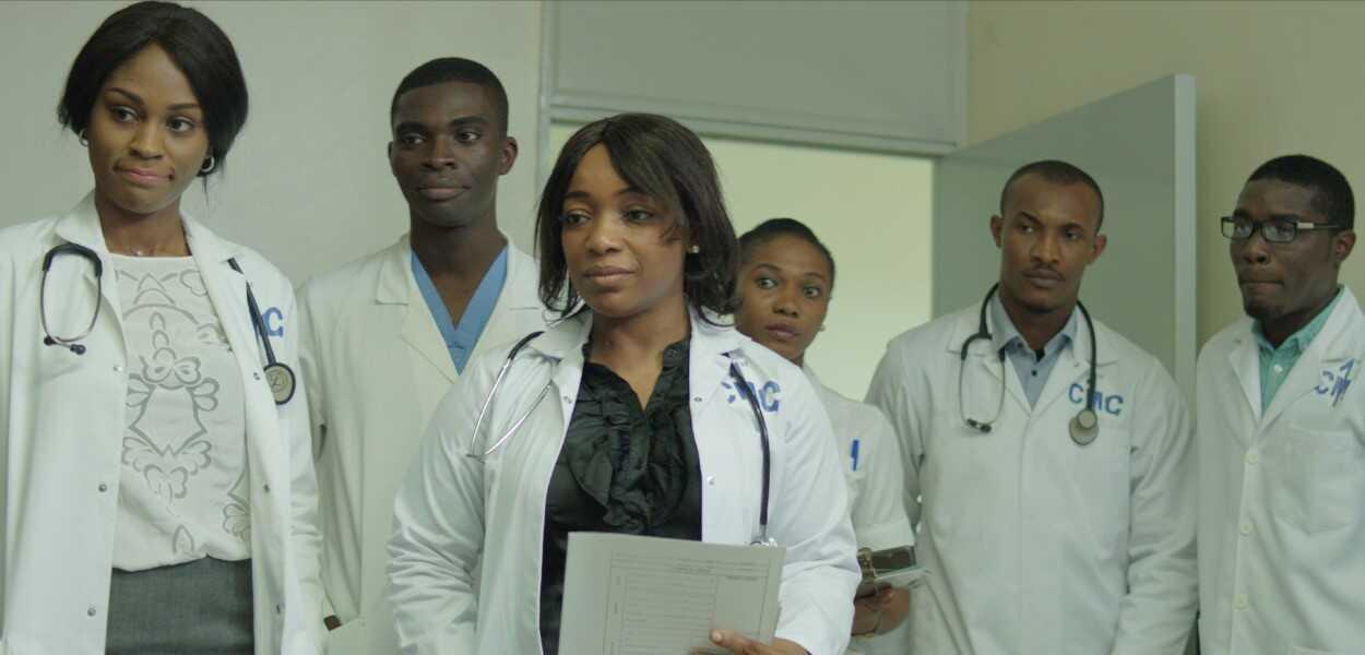 93 jours film nigérian sur ebola au nigeria équipe du First Consultants hospital de lagos