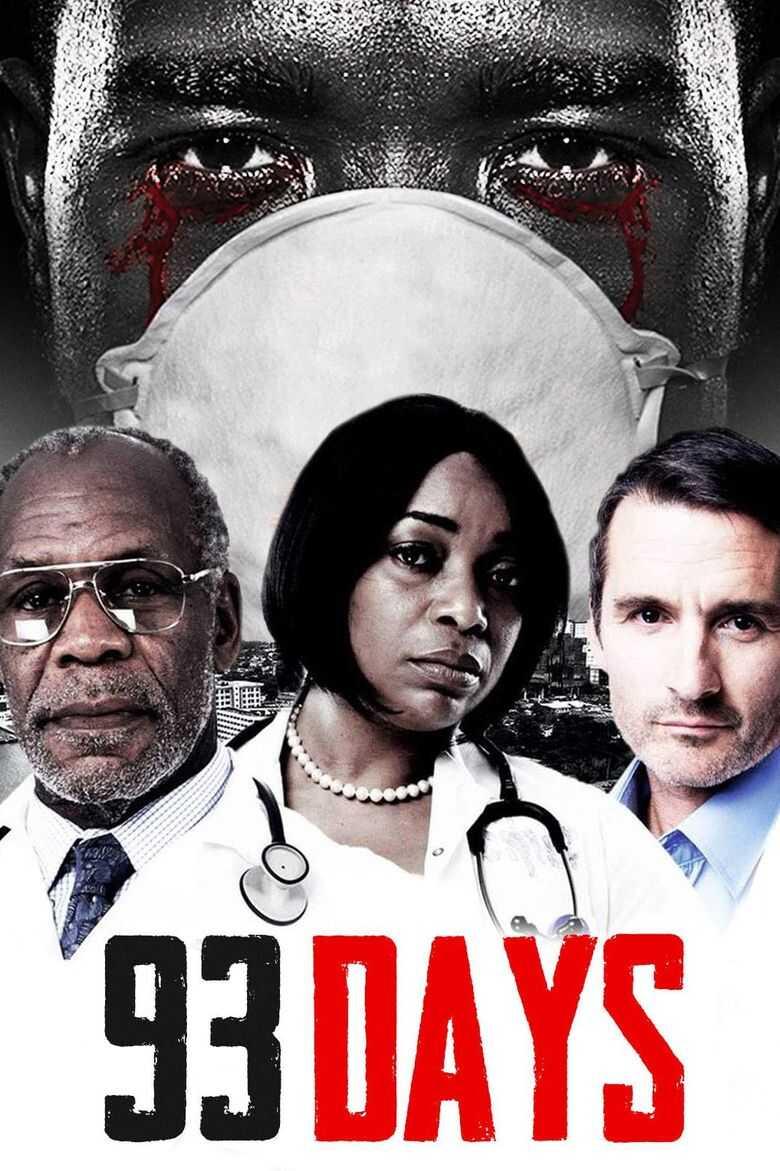 affiche 93 jours film nigérian sur l'épidémie d'ebola au nigeria