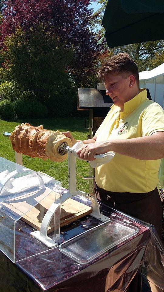 Baumkuchen de la maison Salzwedeler Baumkuchen Hennig